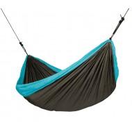 Туристический подвесной гамак для двоих COLIBRI turquoise