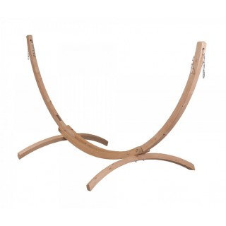 Универсальная стойка из дерева для одноместных гамаков