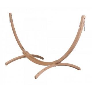 Универсальная стойка из дерева для двухместных гамаков